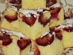 Rozi Erdélyi konyhája: Szilvás sütemény French Toast, Cheesecake, Vaj, Desserts, Breakfast, Sweet, Food, Cakes, Morning Coffee