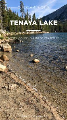 Les carnets d'Elvina - Blog voyage & culinaire Yosemite national park - en 2 jours ! par tenaya Lake Récits, conseils & infos pratiques Road Trip Usa, Paradis, Blog Voyage, Coin, Beach, Water, Outdoor, Food Trip, Notebooks