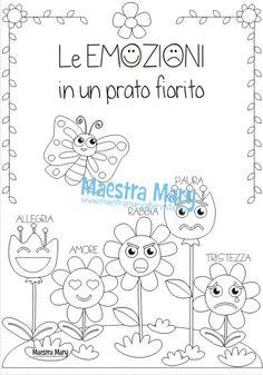 Copertina delle emozioni Life Skills, Montessori, Art Drawings, Crafts For Kids, Dads, Classroom, Luigi, Creative, Children