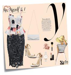 """SheIn 2 (V)"" by nerma10 ❤ liked on Polyvore featuring Post-It, Akira, Bobbi Brown Cosmetics, Olivia Burton, Lancôme, Sisley and Sheinside"