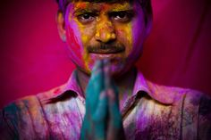 Holi - Hindu Festival of Colors...I wanna play!