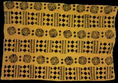 Malian Bogolan cloth