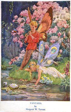 "Margaret Tarrant, ""Fantasia""  *"