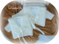 Angora 100% talla 1 año. Ceremonia.  lachaquetitadepunto.blogspot.com