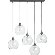 multiple hanging glass pendant light - Google Search