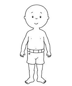 Desenhos para colorir para crianças. Desenhos para imprimir e colorir Caillou 3