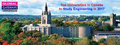 Top Universities in Canada to Study Engineering In 2017 Students who choose to study engineering at a Canadian university have a . Canadian Universities, Top Universities, Professional School, College Diploma, University Degree, Work Abroad, Career Options, Study Areas, Education And Training
