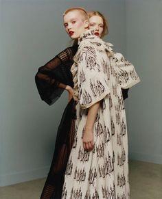 Vogue Paris April 2016 Photographer: Harley Weir Stylist: Suzanne Koller Hair…