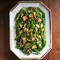 Green Beans with Crispy Garlic