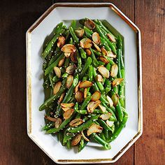 Green Beans with Crispy Garlic