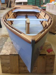 Building a Charlotte skiff   Skol ar Mor