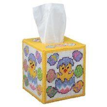 Joyful Easter Tissue Box