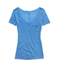 Pocket T-Shirt in Rome Blue