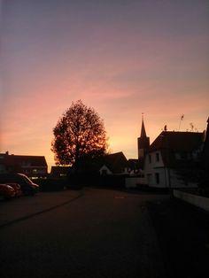 Sonnenuntergang | Nordhorn | Niedersachsen