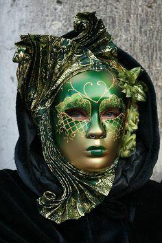 Italy / Carnival in Venice. #masks #venetianmasks #masquerade http://www.pinterest.com/TheHitman14/art-venetian-masks-%2B/