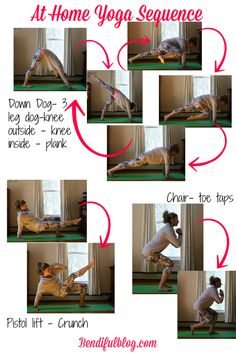 At home Yoga Sequence