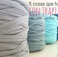 Cómo hacer un bolsazo de Trapillo Crochet Birds, Crochet Fabric, Crochet Food, Fabric Yarn, Crochet Bear, Love Crochet, Diy Crochet, Crochet Patterns, Crochet Animals