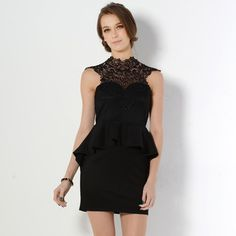 Buy 'YesStyle Z – Sleeveless Crochet Panel Peplum Dress' with Free International Shipping at YesStyle.com. Browse and shop for thousands of Asian fashion items from Hong Kong and more!
