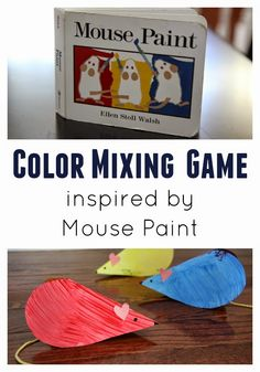 Surprise Color Mixing Heart Craft for Preschoolers