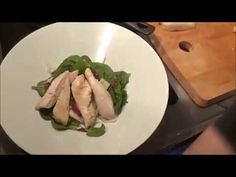 YouTube Asparagus, Chicken, Meat, Vegetables, Youtube, Food, Veggies, Essen, Vegetable Recipes