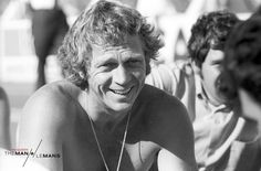 Steve McQueen at the Le Mans. Holy cow!