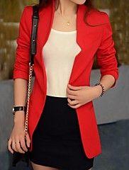 moda feminina fino blazer (mais cores) – EUR € 19.59