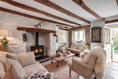 Rilla Mill luxury self-catering cottage in Cornwall Cottage Lounge, House Interior, Cottage Living Rooms, Luxury Cottage, Home, Country Living Room, Country Cottage Interiors, Country Cottage Decor, Home Decor