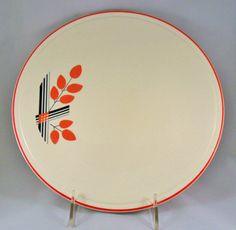 cake plate homer laughlin kitchen kraft harmony art by OldLikeUs