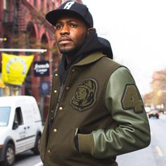 """#BillionaireBoysClub Varsity Jackets • Now available at our NYC flagship and online at BBCICECREAM.COM "" Photo taken by @bbcicecream on Instagram, pinned via the InstaPin iOS App! http://www.instapinapp.com (12/14/2014)"