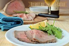 Roast beef all& ricetta facile Tuna, Steak, Fish, Roasts, Recipes, Tutorial, Estate, Oven, Italian Cooking