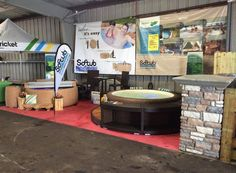 Our booth at the Citrus County Fair in Inverness, FL