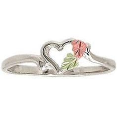 Promise ring. Instead of leaves use birth stones