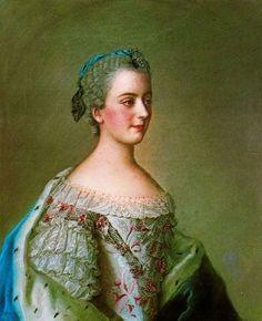 """Isabella Figlia"" (1749) - Jean-Étienne Liotard"