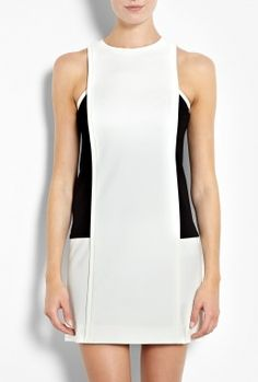 sale at my-wardrobe.com. Combi Shift Dress by Tibi