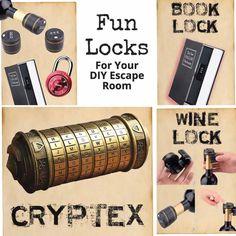 Escape Room Themes, Escape Room Diy, Escape Puzzle, Escape Room Puzzles, Family Halloween, Halloween Crafts, Cheap Halloween, Halloween 2020, Spy Party