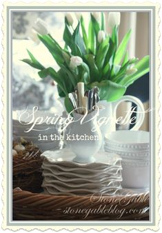Easy to reproduce Spring Vignette