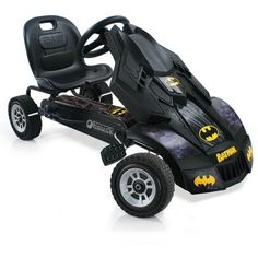 Hauck Batman Batmobile Ride-On Pedal Go-Kart Racer Car Kid Powered Riding Toy Go Kart, Karts, Batman Batmobile, Races Style, Power Wheels, Pedal Cars, Rc Cars, Ride On Toys, Planes
