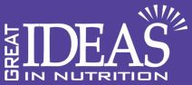 Welcome to Great Ideas Nutrition. Please visit our website for a range of our nutrition options.