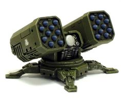 SPACE MARINE AIR DEFENCE MISSILE LAUNCHER