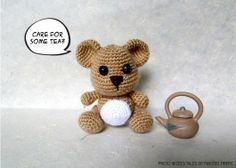 Honey Boo Bear Amigurumi - FREE Crochet Pattern / Tutorial