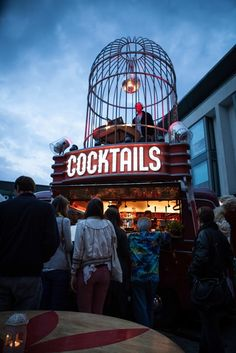 Cockatoo Mobile Cocktail Bar - Cocktail Bar, Brighton. I love this idea!