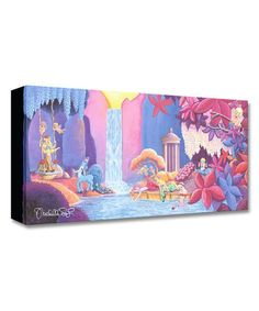 Look what I found on #zulily! Fantasia Garden of Beauty Limited Edition Wrapped Canvas #zulilyfinds