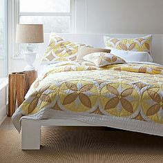 old fashioned bed spread