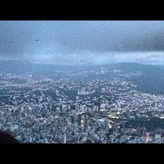 Caracas view from the Avila