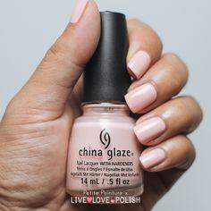 Live Love Polish: China Glaze Pink of Me and Float On | Petite Peinture