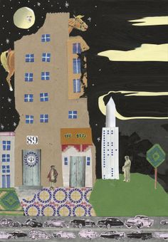 06 / Ivana Boullon / Ciudades / from: La vuelta al mes en 30 ilustradores