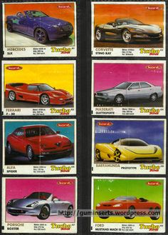 Turbo Super 401-470 | My Bubble Gum Inserts Collection