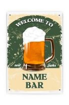 Buy Customized Metal Sign