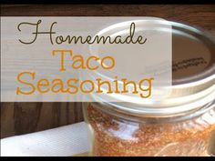Learn how to make this simple homemade taco seasoning in bulk to save time and money.