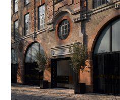 The Brassworks entrance_ Belsize Architects